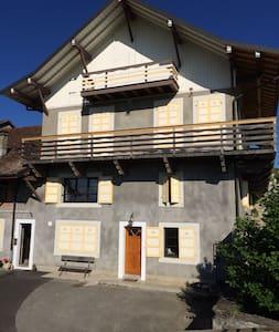 Petit appartement calme et champêtre - Loisin - Apartment