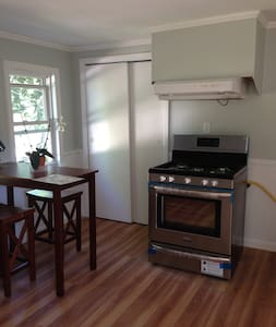 Private 1 BR apt on 2nd floor with parking + deck - Apartment