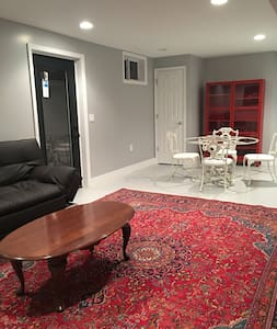 Beautiful basement apartment with private entrance - Fairfax - Entire Floor