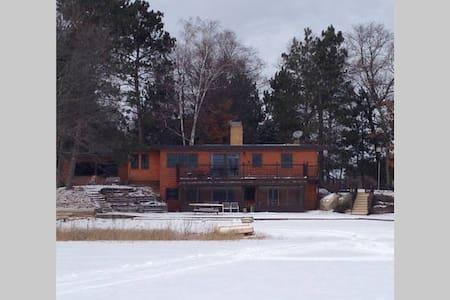Snowmobile, ATV, Ice Fish Lakehouse - Danbury - Casa