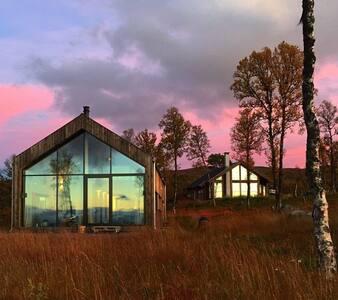 Moderne hytte på Nystølfjellet Gol - Cabin