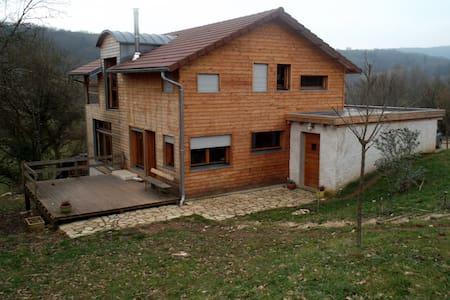 maison bois - La Chapelle-sur-Furieuse