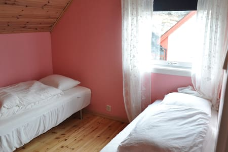 Twin room 3, Odda near Trolltunga - House