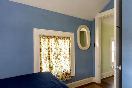 Greek Revival Farmhouse Blue Room - House