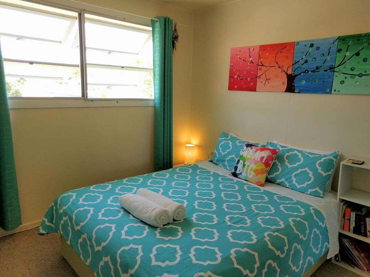 Peaceful stay in central Byron Bay
