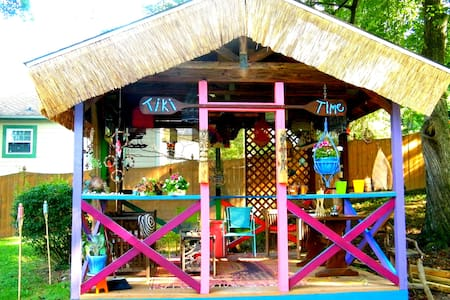 The Gypsy Cottage/Best Energy Ever - Hendersonville - Casa