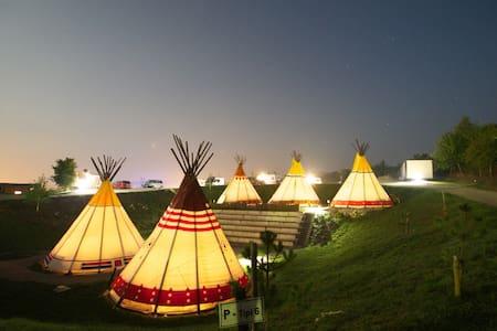 Tipi Tent - Grabovac - Tipi