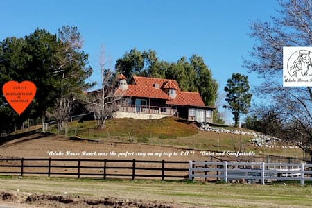 """The Victorian""at Adobe Horse Ranch - Agua Dulce - House"