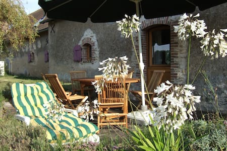 Maison traditionelle dans la vallée de la loire. - Cléré-les-Pins