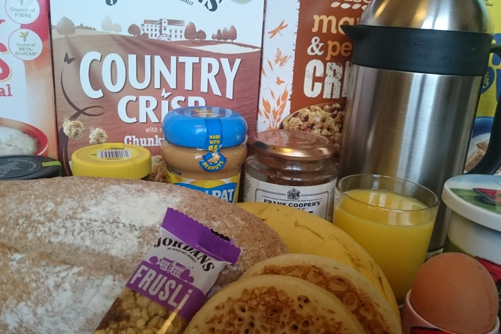 Breakfast is included. Let me know if you have any specific dietary requirements, e.g.  wheat/dairy free.