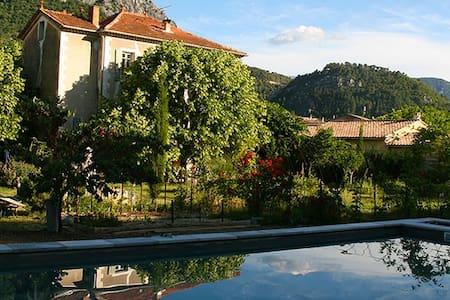 Chambre 1 en rez de jardin de La-Berlue - Buis-les-Baronnies