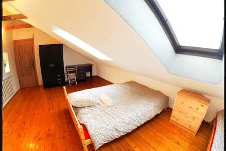 FAMILY ROOM with double bed+free breakfast Parking - Vilnius - Bed & Breakfast