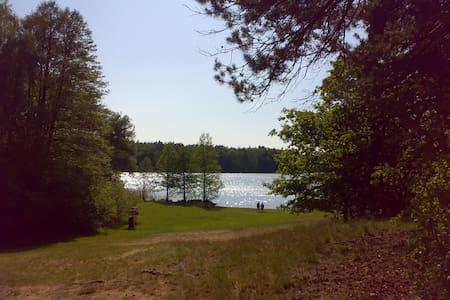 Natur pur nahe Kurort Buckow - Apartemen