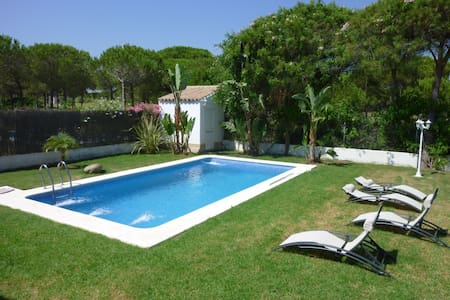 Villa w private pool, golf Sancti Petri Hills - Chiclana de la Frontera