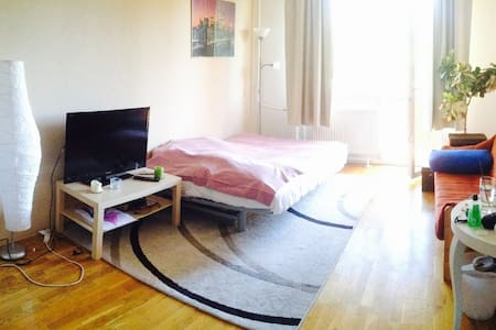 2-room apartment with balcony and park view - Boedapest - Appartement