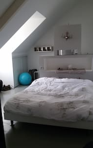 Suite dans appartement contemporain centre ville - Tours - Podkroví