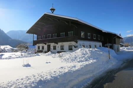 Sunny appartment with terrrace - Inzell