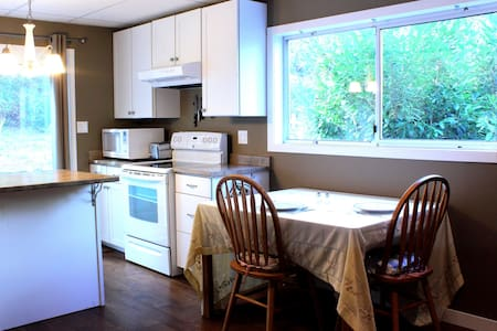 Beautiful large 1 bedroom garden suite - North Saanich