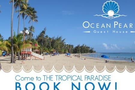 Beach Front Guest House #5 - Luquillo - Bed & Breakfast