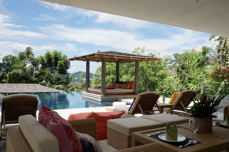 Villa with Sea view in the hills - Choeng Thale - Hus