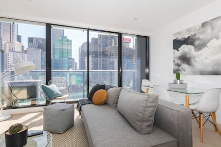 Sophisticated Southbank Pad with Spectacular Views - Southbank - Apartment