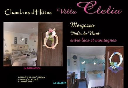 Chambres d'Hôtes/Guest House villa CLELIA*** - Mergozzo