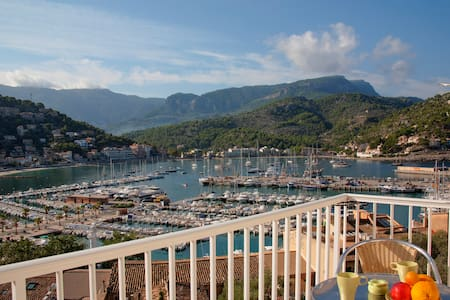 Outstanding view over the bay and the mountains - Sóller - Huoneisto