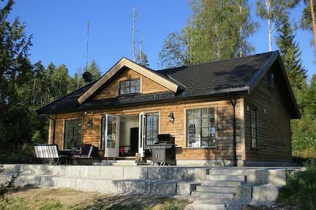 Idyllic cabin w/ lake view, Marker - Ørje - Zomerhuis/Cottage