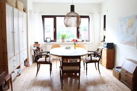 Bright, peaceful and charming flat. Close to city. - Odense - Other