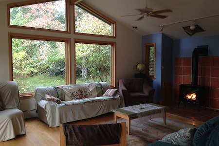 Beautiful, Large, Bright Retreat in Orchard/Forest - Bellingham - Talo