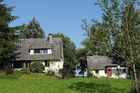 Forsthaus am Fuß der Burg Herzberg - Casa