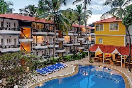 1 BHK Baga Apartment Resort in Nature's Lap - Baga