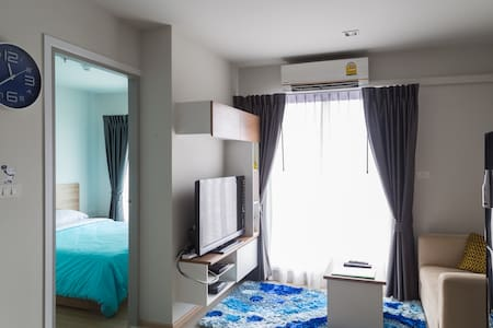 Cozy Living in Bangkok MRT - Apartamento