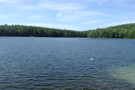 Lovely Adams lake take a step back! - Bridgton - Cabin