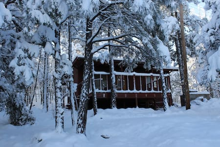 Cozy, Tranquil, Romantic Cabin in Pinetop! - Pinetop-Lakeside - Cabin