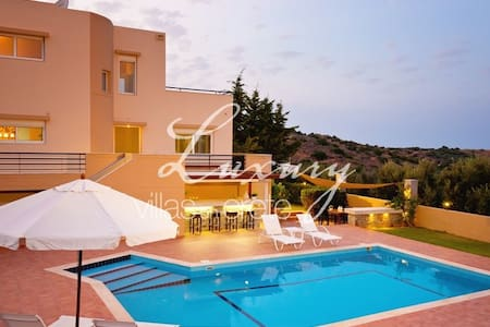 Lovely 3-bedroom Villa Poseidon - Milatos - Vila