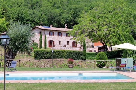 Wonderful villa with private pool - Huvila