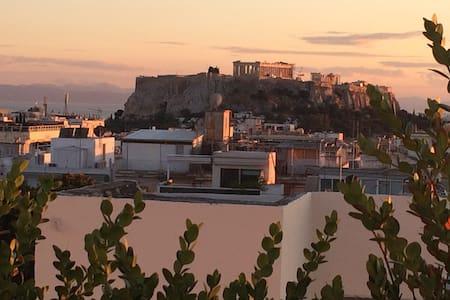 New Loft mesmerizing Acropolis view - Loft