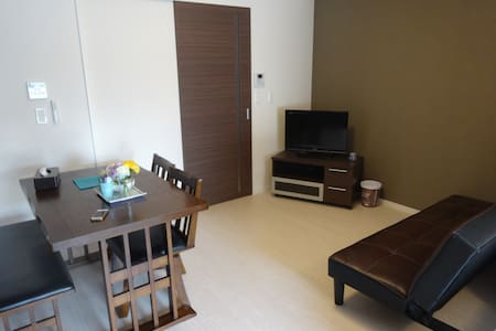 1min walk Kuromon. Osaka center area☆free wifi☆ - Apartment