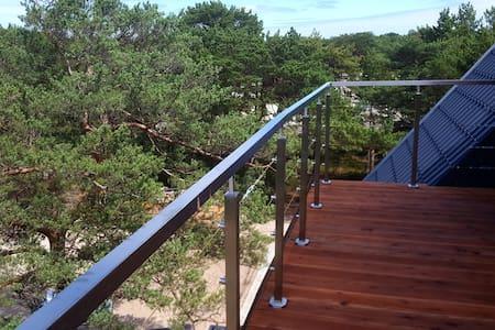 P morze| Apartament z tarasem i widokiem na wydmy - Jastarnia