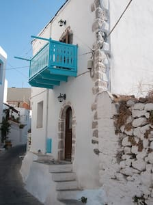Mandraki, Nisyros,Dodecanese, Aegean sea, Greece - House