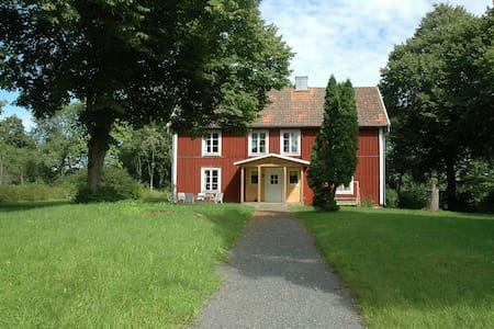A house with large garden close to woodland - Grunkabo