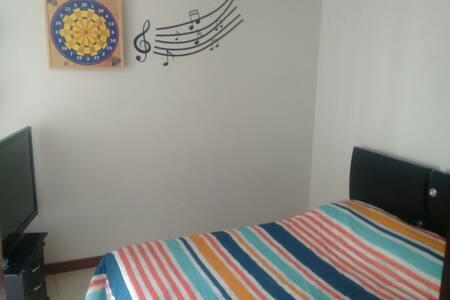 Habitación/Room in Eje Cafetero!!! - Lakás