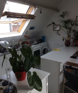 Cozy Loft City Center - Antwerpen - Apartment