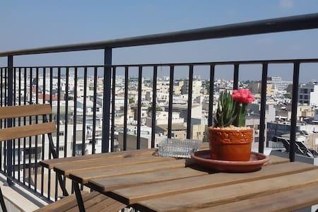 Amazing view @ TLV Florentine border Neve Tzedek - Apartamento
