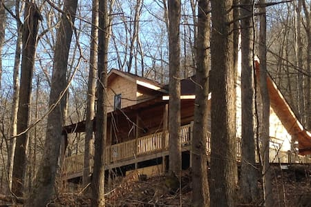 UNIQUE CHARM LOG CABIN IN THE WOODS - Robbinsville