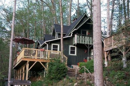 Cozy Creekside Cabin - Vilas - Cabin