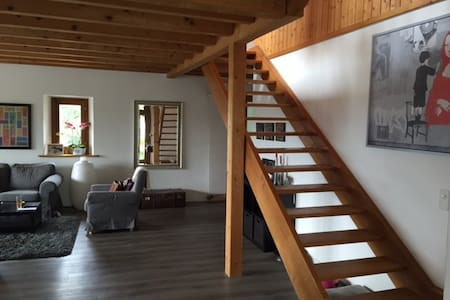 Beautiful appartment with view, 10 min from Geneva - Leilighet