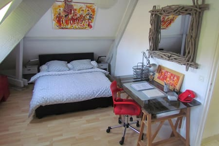 Chambre 30m²dans propriété au calme - Toussaint - House