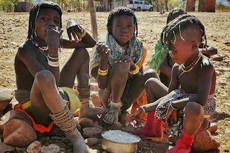 Himba School Experience at Omuhonga - Okongwati - Tent